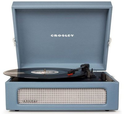 Crosley Voyager washed blue platenspeler