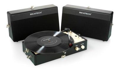 Ricatech RTT80 zwart platenspeler
