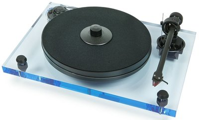 Pro-Ject 2-Xperience Primary Acryl blauw platenspeler