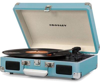 Crosley Cruiser Deluxe turquoise platenspeler