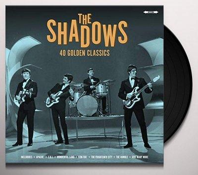 The Shadows - 40 Golden Classics dubbel-LP