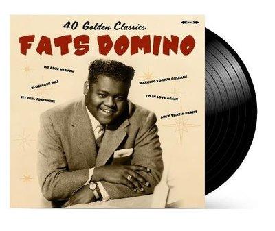 Fats Domino - 40 Golden Classics dubbel-LP