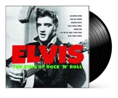 Elvis Presley - The King Of Rock 'N' Roll dubbel-LP