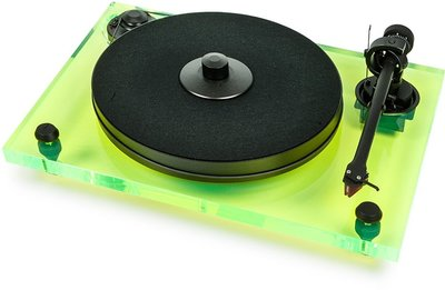 Pro-Ject 2-Xperience Primary Acryl groen platenspeler