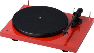 Pro-Ject Debut RecordMaster OM10 rood platenspeler