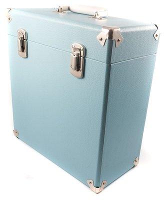 GPO platenkoffer blue
