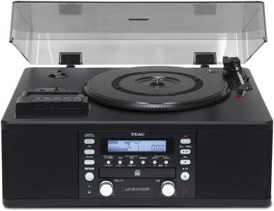 Teac LP-R500 zwart platenspeler
