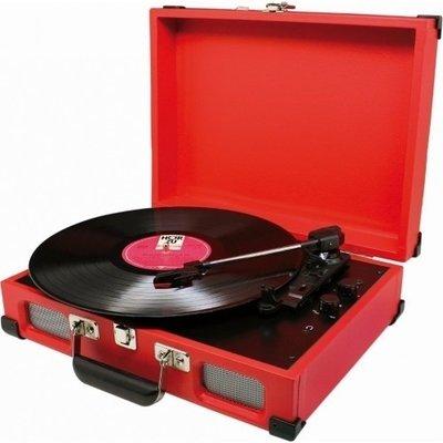 Soundmaster PL580 rood platenspeler