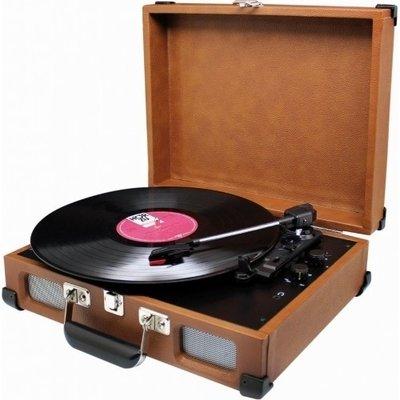 Soundmaster PL580 bruin platenspeler