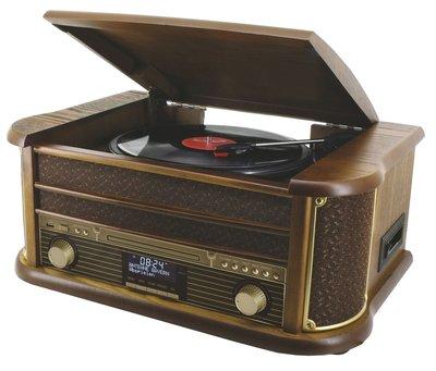 Soundmaster NR513DAB platenspeler