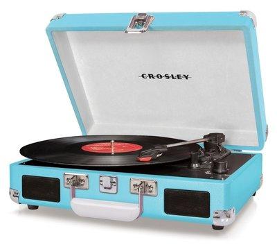 Crosley Cruiser I turquoise platenspeler