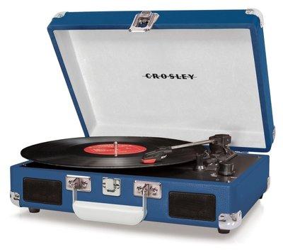 Crosley Cruiser I blauw platenspeler