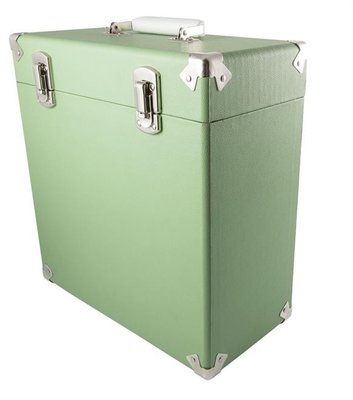 GPO platenkoffer green