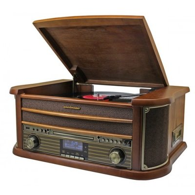 Soundmaster NR545 DAB+ platenspeler