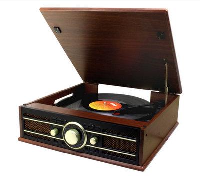 Soundmaster PL550BR platenspeler