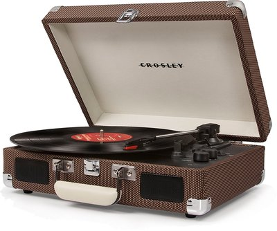 Crosley Cruiser Deluxe tweed platenspeler