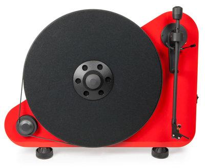 Pro-Ject VT-E Right rood platenspeler