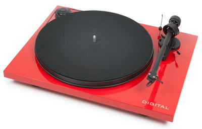Pro-Ject Essential II Digital rood platenspeler