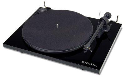 Pro-Ject Essential II Digital pianozwart platenspeler
