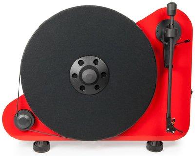 Pro-Ject VT-E BT Right rood platenspeler