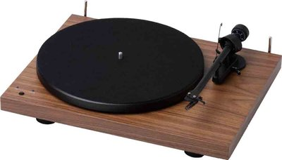 Pro-Ject Debut Recordmaster walnut platenspeler