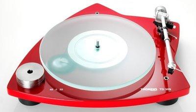 Thorens TD 309 rood platenspeler