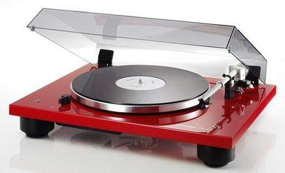 Thorens TD 206 rood platenspeler
