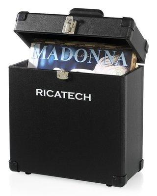 Ricatech RC0042 zwart platenkoffer