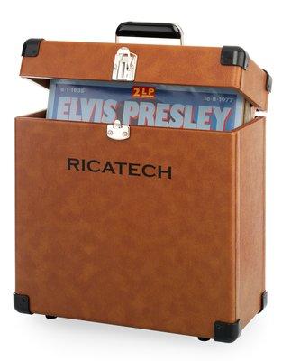 Ricatech RC0042 bruin platenkoffer