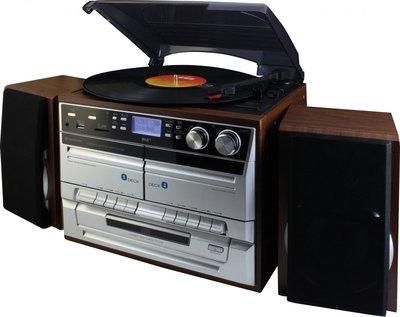 Soundmaster MCD5500DBR DAB+ platenspeler