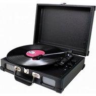 afbeelding van Soundmaster PL580 zwart platenspeler