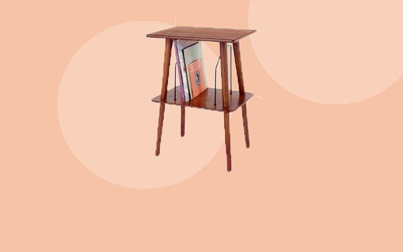 platenspeler tafel